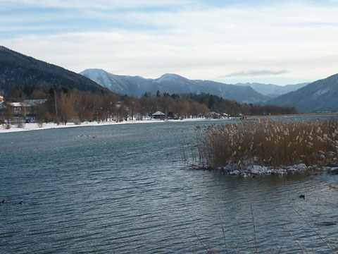 Winterstimmung am Tegernsee